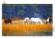 Marsh Ponies Carry-all Pouch
