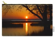 Ocean City Sunset At Old Landing Road Carry-all Pouch