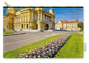 Marshal Tito Square In Zagreb Carry-all Pouch