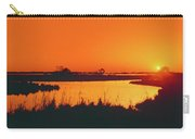 Marshland At Dusk, Bayou Country, Route Carry-all Pouch