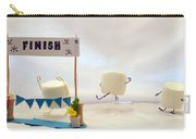 Marshmallow Marathon Carry-all Pouch by Heather Applegate