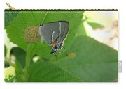Martial Scrub Hairstreak Butterfly Carry-all Pouch
