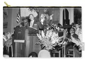Martin Luther King Jnr 1929 1968 American Black Civil Rights Campaigner In The Pulpit Carry-all Pouch