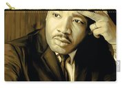 Martin Luther King Jr Artwork Carry-all Pouch by Sheraz A
