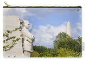 Martin Luther King Jr Memorial And The Washington Monument Carry-all Pouch