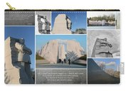 Martin Luther King Jr Memorial Collage 1 Carry-all Pouch