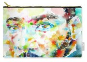 Martin Luther King Jr. - Watercolor Portrait Carry-all Pouch