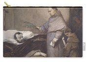 Martin Rithone Blessing The Body Of The Count Of Egmont Wc On Paper Carry-all Pouch