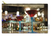 Martini Glasses In Bar Carry-all Pouch