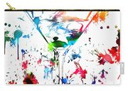 Martini Paint Splatter Carry-all Pouch