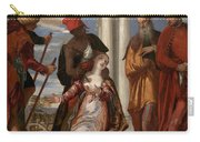 Martyrdom Of Saint Justina Carry-all Pouch