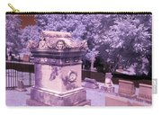 Mary And John Tyler Memorial Near Infrared Lavender And Pink Carry-all Pouch