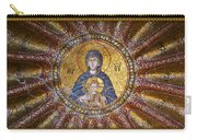 Blessed Virgin Mary And The Child Jesus Carry-all Pouch