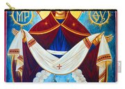 Mary And The Holy Church Carry-all Pouch
