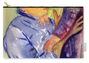 Mary Cassatt Helene De Septeuil In Watercolor Carry-all Pouch