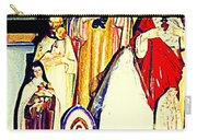 Mary Joseph And Jesus Vintage Religious Catholic Statues Patron Saints And Angels Cb Spandau Quebec Carry-all Pouch