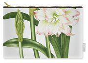 Mary Lou Amaryllis Carry-all Pouch