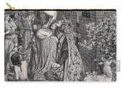 Mary Magdalene At The Door Of Simon Carry-all Pouch