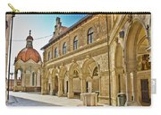 Mary Of Bistrica Shrine Architecture  Carry-all Pouch