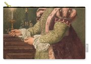 Mary Queen Of Scots Carry-all Pouch by Sir James Dromgole Linton