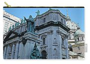 Mary Queen Of The World Cathedral - Side View In Hdr Carry-all Pouch