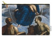 Mary With The Child Carry-all Pouch