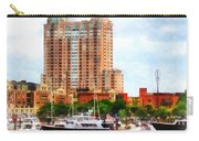 Maryland - Boats At Inner Harbor Baltimore Md Carry-all Pouch