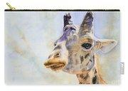 Masai Giraffe Carry-all Pouch