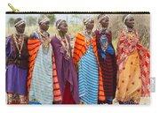 Masai Women Kenya Carry-all Pouch