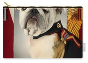 Mascot Of The United States Marine Corps Carry-all Pouch