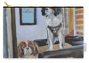 Mascots Of The Inn Carry-all Pouch by Donna Tuten
