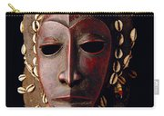 Mask From Ivory Coast Carry-all Pouch