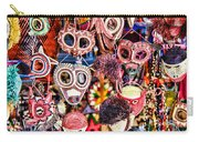 Mask Me In El Casco By Diana Sainz Carry-all Pouch