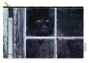 Masked Man Looking Out Window Carry-all Pouch