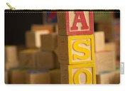 Mason - Alphabet Blocks Carry-all Pouch