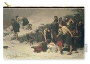 Massacre Of Glencoe, 1883-86 Carry-all Pouch