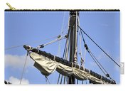 Mast And Rigging On A Replica Of The Christopher Columbus Ship P Carry-all Pouch