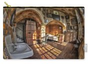 Master Bedroom At Fonthill Castle Carry-all Pouch by Susan Candelario