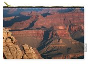 Mather Point At Sunrise On The Grand Canyon Carry-all Pouch
