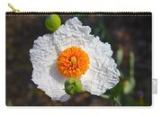 Matilija Poppy Buds And Bloom Carry-all Pouch