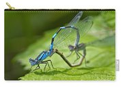 Mating Damselflies Carry-all Pouch
