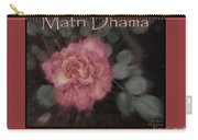 Matri Dhama Rose Design Carry-all Pouch