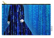Matrix Neo Keanu Reeves Carry-all Pouch by Tony Rubino