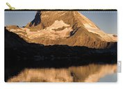 Matterhorn Reflected In Riffelsee Lake  Carry-all Pouch