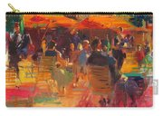 Maturing Sun, Paris Oil On Canvas Carry-all Pouch