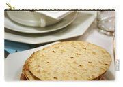Matza And Haggada For Pesach Carry-all Pouch