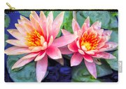 Maui Lotus Blossoms Carry-all Pouch