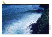 Maui Shoreline On The Way To Hana Carry-all Pouch by J D Owen