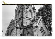 Mausoleum New England Black And White Carry-all Pouch