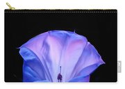 Mauve Blue Black Angels Trumpet Carry-all Pouch